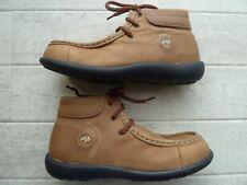 Birkenstock Footprints Leder Schuhe 2 Fußbetten 34 und 35 Pirot Boots braun NEU