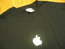 APPLE logo Sales Web T-SHIRT Mac OS X Large LG NEW NWOT Employee Only L tee iPOD