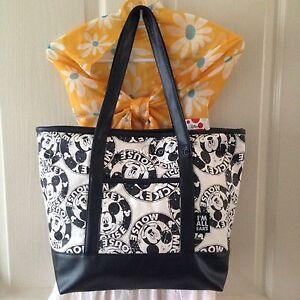 AUTHENTIC DISNEY MICKEY MOUSE Handbag Clutch Shopper Shoulder Bag W43xH30 cm L.