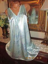 Donna Nadeau Liquid Satin Nightgown gown dress lingerie Size M