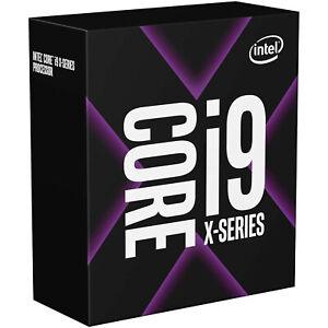 Intel Core i9-10900X, 10x 3,7 GHz (Turbo 4,5GHz), LGA 2066 (Socket R4) BOX- NEU