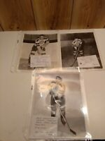 Vintage original NHL photos  Boston Bruins 1940's Warwick, Sanford, Creighton
