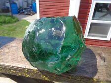 New listing Glass Rock Slag Clear Green 7.10 lb Rocks Ii29 Landscaping Aquarium