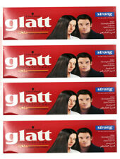 4 x GLATT Schwarzkopf STRONG Hair Straightener Cream For Very Curly Frizzy Hair