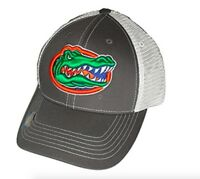 Florida Gators Adjustable Gray Mesh Snapback Cap NCAA Hat