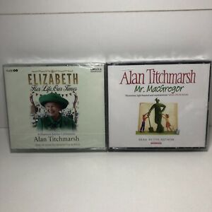 2 ALAN TITCHMARSH CD AUDIO BOOKS brand new and sealed