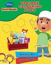 """Disney Sticker Activity: """"Handy Manny"""" (Disney Handy Manny Sticker Bk), , New Bo"""