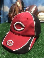 Cincinnati reds youth rare vtg Adjustable Strapback Hat cap H3