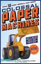 COLOSSAL PAPER MACHINES - BRAND NEW BOOK - MODELS 176404