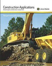 Equipment Brochure John Deere Construction Applications 2013 E3631