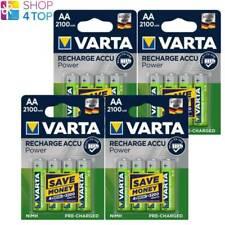 16 VARTA Ricarica ACCU Alimentazione AA Hr6 Batterie 1.2v 2100mah NiMH Mignon