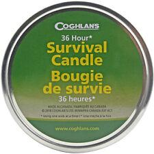 Coghlan's vela de supervivencia con 3 Mechas (a granel), quemaduras 36 horas, incluye partidos