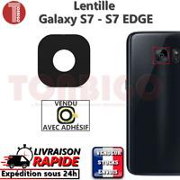 Lentille Camera SAMSUNG GALAXY S7 - S7 EDGE G930F G935F Vitre Appareil Photo