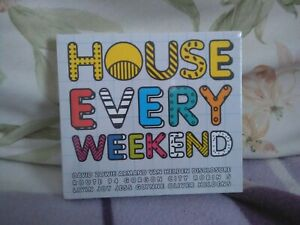 House Every Weekend CD 3 discs (2015) Various Artists - New - Free UK postage