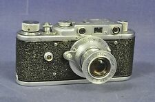 Zorki 1/Industar 22 P (50mm f/3.5) m39 _ sonndermodel transformación rareza