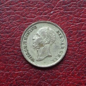 Netherlands 1848 silver 10 cents