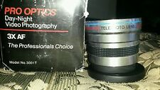 Pro optics telephoto deluxe lens