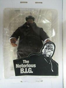 "2006 Mezco The Notorious B.I.G. Biggie Smalls 9"" Figure In Black"