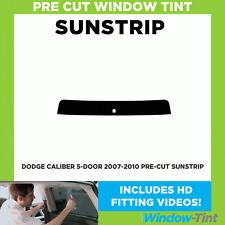 Pre Cut Sunstrip - Dodge Caliber 5-door 2007-2010 - Window Tint