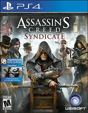 NEW Assassin's Creed: Syndicate (Sony PlayStation 4, 2015)