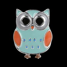 New Crazy Sale !Hallowmas OWL Snap on Metal Button Charms Fashion Jewelry
