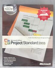 Microsoft Office Project 2003 Standard WIN32 English AE CD for Windows 2000 & XP