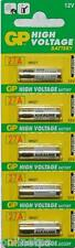 5 Pc Original GPUltra 27A 12V Alkaline Cell Battery High Voltage for Car Remote