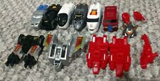 Transformers G1 Japan SixTrain 1992 Original Takara Micromaster Train Combiners