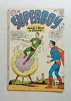 Superboy 121 1965 VG- Silver Age DC Comics Jor-El's Visit To Earth Superman