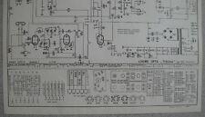 LOEWE OPTA Typ 2654 Rf Tribüne Schaltplan Ausgabe 1, Stand 05/58