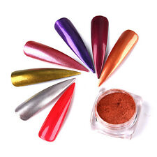 New Rose Gold Nail Mirror Powder Nails Glitter Chrome Powder Nail Art Pigment