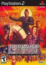 Nobunaga's Ambition: Rise to Power (Sony PlayStation 2, 2008)-Complete