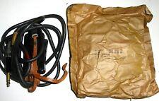 Microphone cord CD318 SW-141 push to talk Signal-Corps cordon cuir US NOS NIB