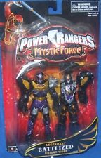 "Power Rangers Mystic Force 6"" Legendary Battlized Knight Wolf Ranger Factory New"