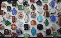 Großhandel neu 36stk silber Stein Metall Riesig groß Damen Mode Schmuck Ringe
