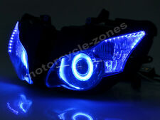 Blue Angel Eye HID Projector Headlight Assembly For Honda CBR 1000RR 2008-2011