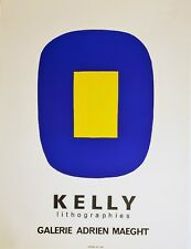 ELLSWORTH KELLY Lithographs - Galerie Adrien Maeght Lithograph Poster SEAL