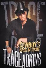 Trace Adkins Cowboy's Back In Town 2011 Tour T-Shirt XXL Size 2XL Country Music