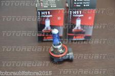 2 PZ LAMPADINE LIMA H11 LAMPADINA 12V55W SIMIL XENO XENON BIANCO LAMPADA 4500°k