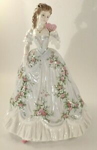 "Royal Worcester 8 1/4"" Figurine Queen Of Hearts Ltd Ed No 7540 c1992 Excellent"