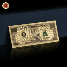 WR Colored Gold USA $1 Million Dollar Bill Note America Novelty Banknote Collect