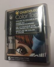 Chameleon Blendable Color Tops Alcohol-Based Mixing Chambers - Skin Tones