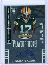 2014 Panini Contenders Davante Adams Playoff Ticket Rookie RC Auto 20/99 Packers
