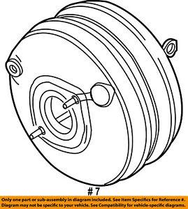 CHRYSLER OEM-Power Brake Booster 4721802AC