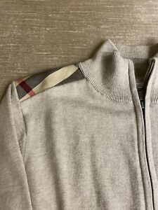 Burberry Boys Long Sleeve Cardigan Size 12Y-152 cm