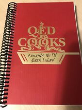 "WQED / QED Cooks ""COOKING with BEER & WINE"" Pittsburgh Recipes PBS Cookbook"