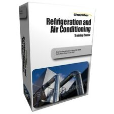 Refrigeration Air Conditioning Equipment Cooling HVAC PC Course Training Guide