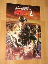Das Bourne Komplott Rainbow Six Vegas 2 Double sided Poster gefaltet 45x29.5 cm