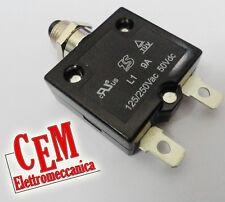 Disgiuntore termico - Salvamotore - Termoprotettore per motore elettrico - pompa