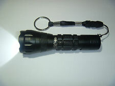 130 lumen Mini Tatical Cool White LED Flashlight Torch  AA